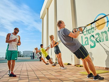 trx Class suspension functional training